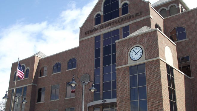 The Ottawa County Courthouse in Grand Haven.