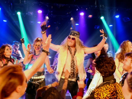 """Rock of Ages"" plays at the Cascade Theatre."