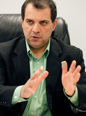 2012 photograph of Kamran Pahlavan, former executive director of the Harrison County Utility Authority