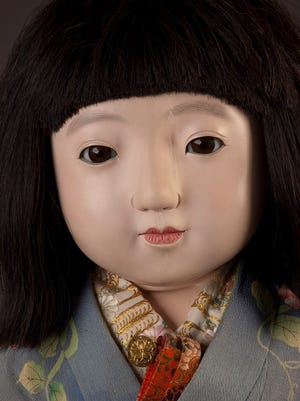 Miss Nagasaki, one of the friendship dolls that will be on display at RMSC