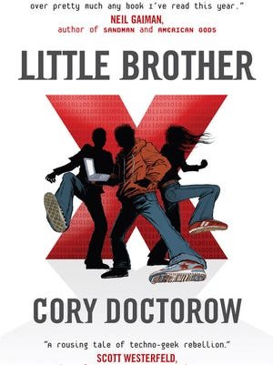 """""""Little Brother"""" is about hacker kids in San Francisco who use technology to reclaim democracy from the Department of Homeland Security after a terrorist attack. It was published by Tor Books in 2008. — Author Cory Doctorow's website"""