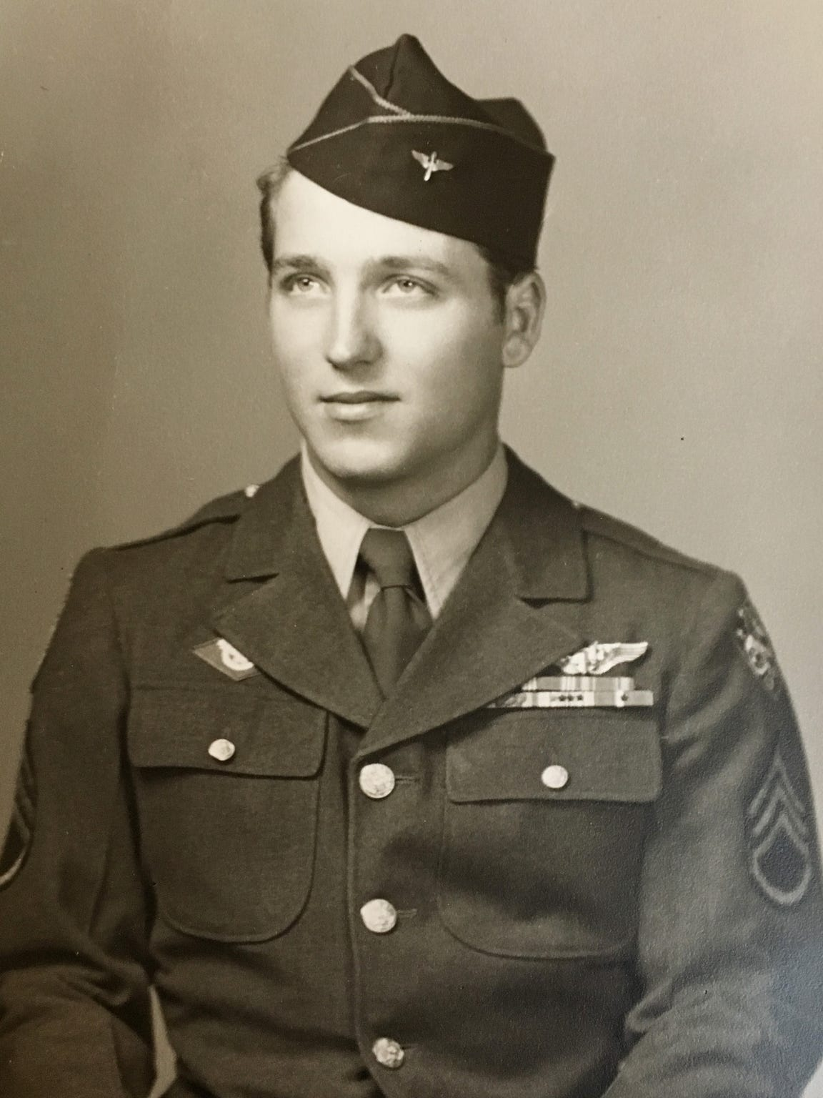Leo Bundschuh (Oct. 30, 1925 – ) enlisted into WWII,