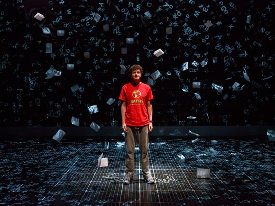 """Adam Langdon stars in the U.S. tour of """"The Curious Incident of the Dog in the Night-Time,"""" the winner of five Tony Awards in 2015."""