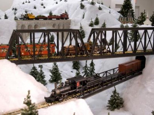 Christmas at EnterTRAINment Junction.