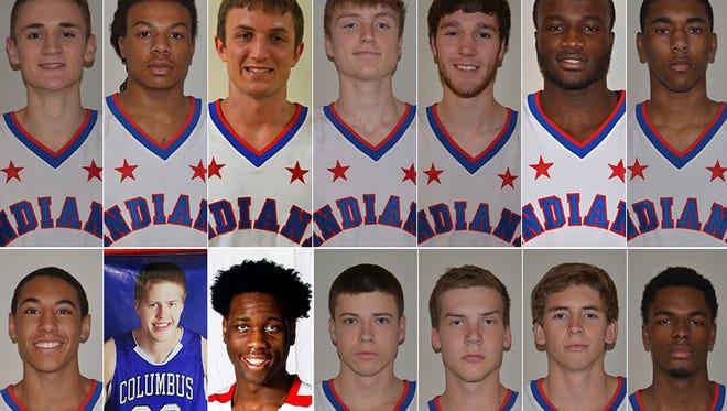 The 2015 Indiana Senior Boys All-Stars