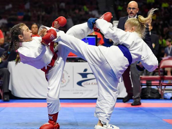USA Karate is visiting Greenville July 20-23 for four