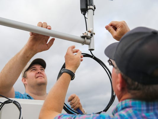 Weather station installed at San Angelo soccer fields