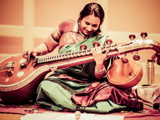 Lawrence World Music Series welcomes Indian veena master Nirmala Rajasekar