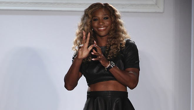 Serena Williams' Signature Statement Collection fashion show held at Style360.