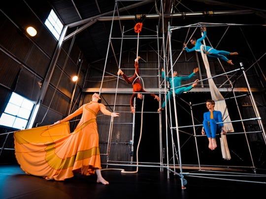 """The Project in Motion aerial dance company will perform """"The Palace at Night."""""""