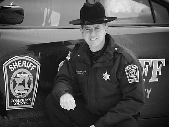 Derek Osborne retired as the undersheriff of Tompkins County in 2015.