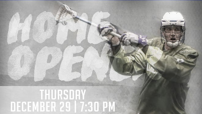 The Knighthawks home opener will be on a Thursday night (Dec. 29).