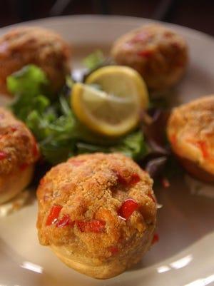 The Vegetable-Stuffed Mushroom Caps recipe was shared by chef/owner Steven Renzi.