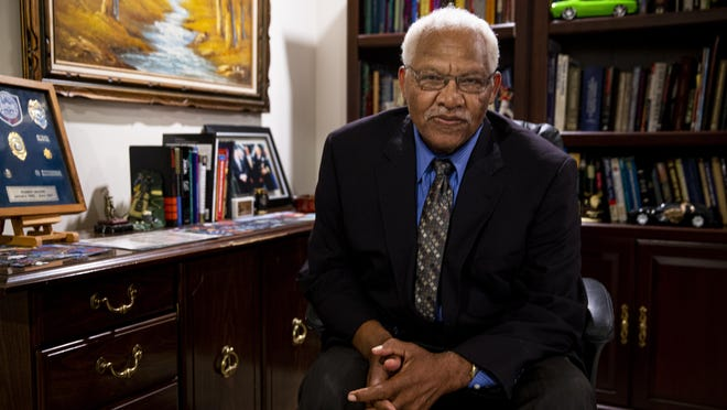 Former U.S. Marshal Robert Moore serves as chair of the criminal justice committee for Illinois branches of the National Association for the Advancement of Colored People, and is a consultant on police procedures and community relations.