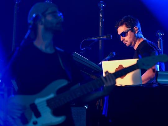 Papadosio performs at the Bonnaroo Music & Arts Festival