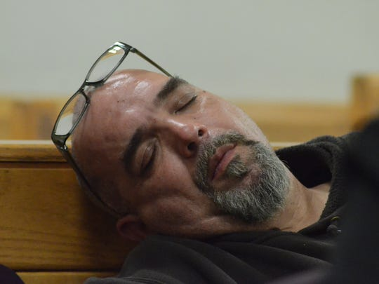 Craig Farrington during his preliminary hearing May 14 on dog fighting charges.