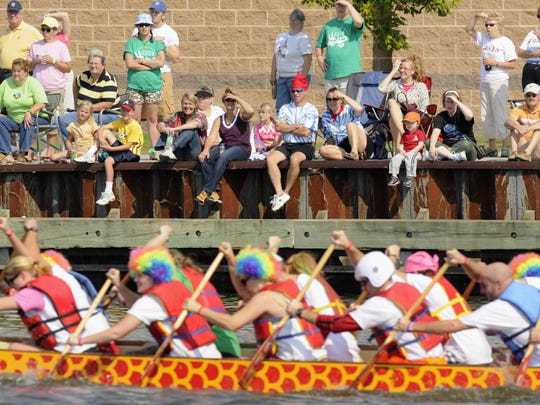 Oshkosh hosted dragon boat races from 2006 to 2016