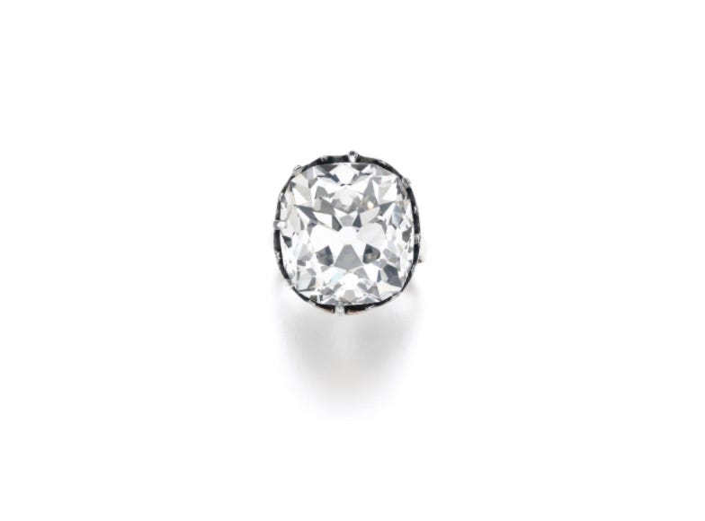 u0027Costume jewelryu0027 diamond ring purchased for $13 sells for more than $800K at Sothebyu0027s auction  sc 1 st  USA Today & Costume jewelryu0027 diamond ring purchased for $13 sells for more than ...