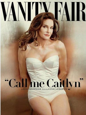 One popular Halloween costume has been modeled after the Vanity Fair magazine cover of Caitlyn Jenner.
