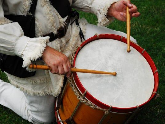 Drummer, Revolutionary War Era