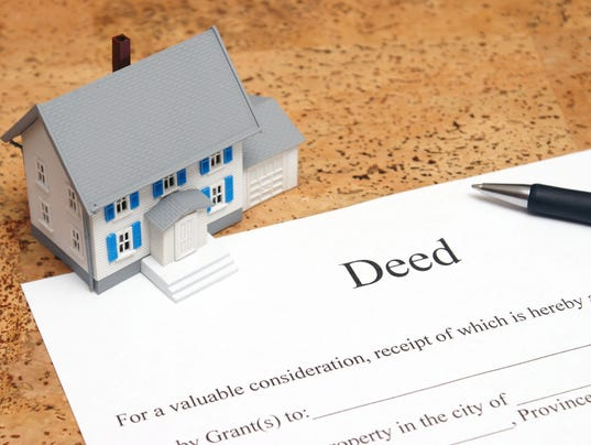 Removing Name From Real Property