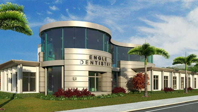 A rendering of the Engle Dentistry office that is being built at 1390 U.S. 41 N. in Naples.