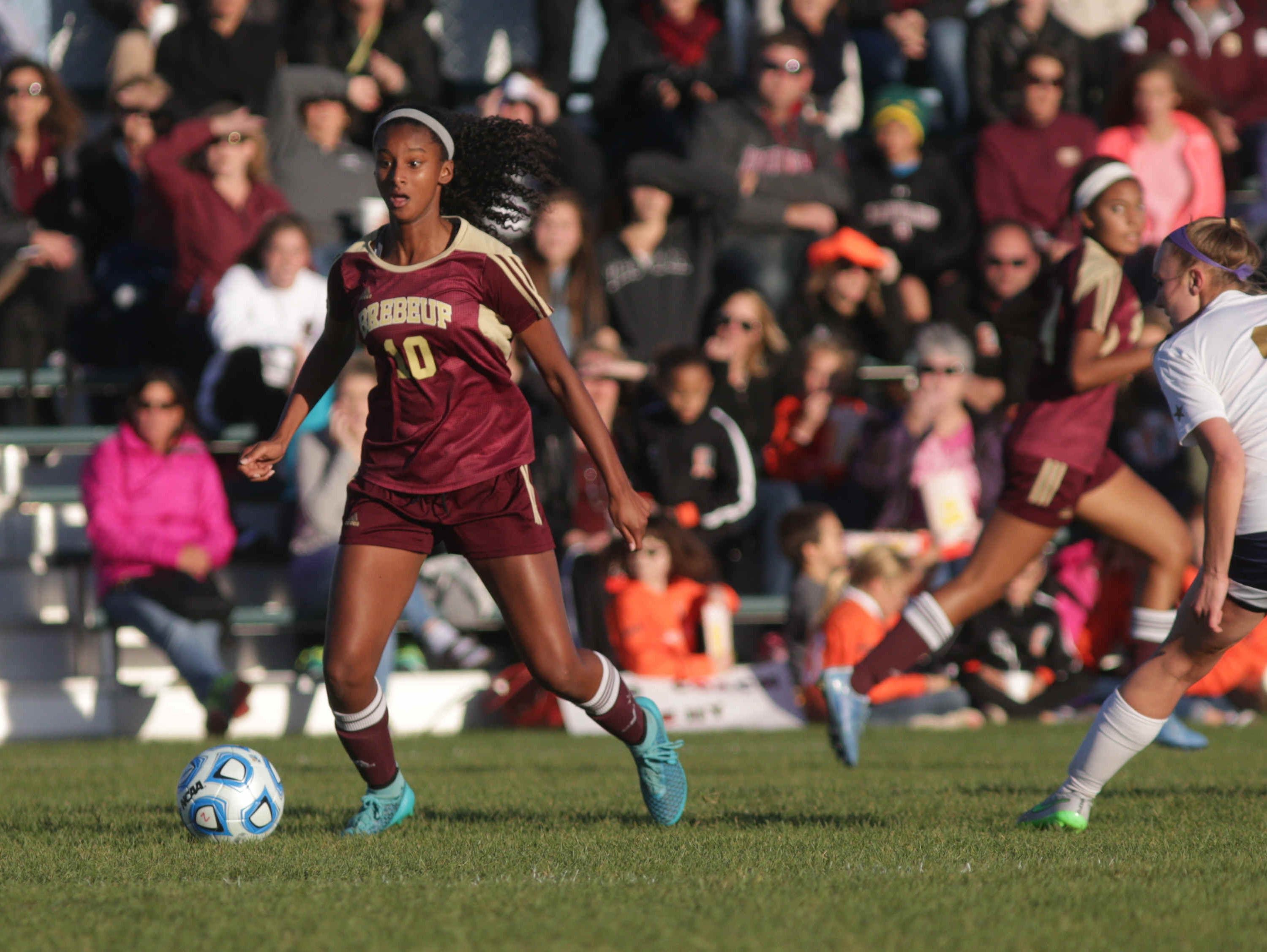 Brebeuf's Ryanne Brown.