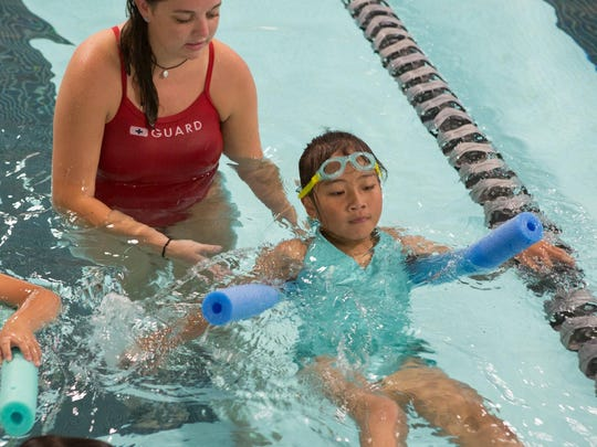 Swim lessons continue today in what was, in 1934, Vermont's first indoor pool. Over 800 swimmers receive lessons or participate on the Y's Dynamo swim team annually.