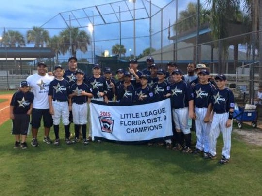 South Fort Myers 11-12 all-star baseball