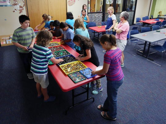 The Salem Public Library is hosting activities for youth of all ages during spring break.