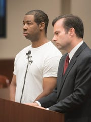 Floyd Russell Galloway is arraigned on charges of kidnapping