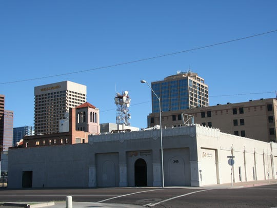 The Welnick Arcade Market building in downtown Phoenix.