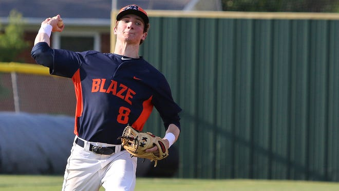 D.J. Wright had three hits and earned the win on the mound as Blackman knocked off Stewarts Creek 10-1 Thursday.