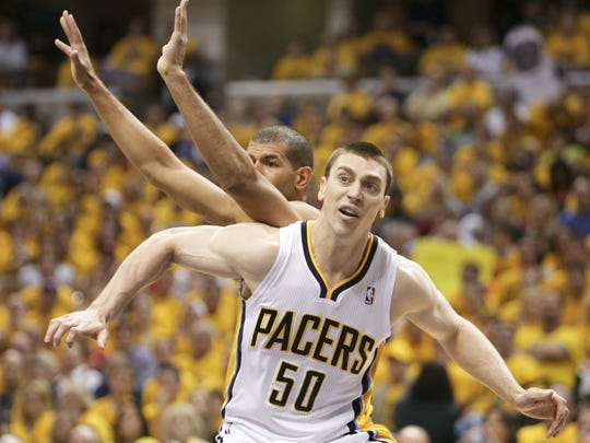 No one ever doubted Tyler Hansbrough's willingness to do the dirty work.