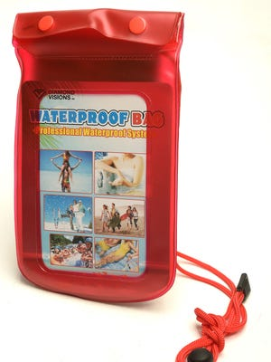 A waterproof bag for practical and cheap stocking stuffers Monday Dec. 12, 2016, in Nashville, Tenn.