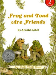 """""""Frog and Toad Are Friends"""" by Arnold Lobel."""