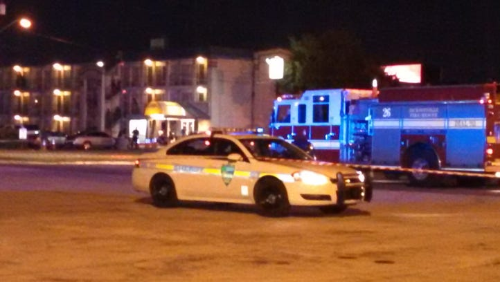 JSO investigating a man who barricaded himself in a room at the Diamond Inn.