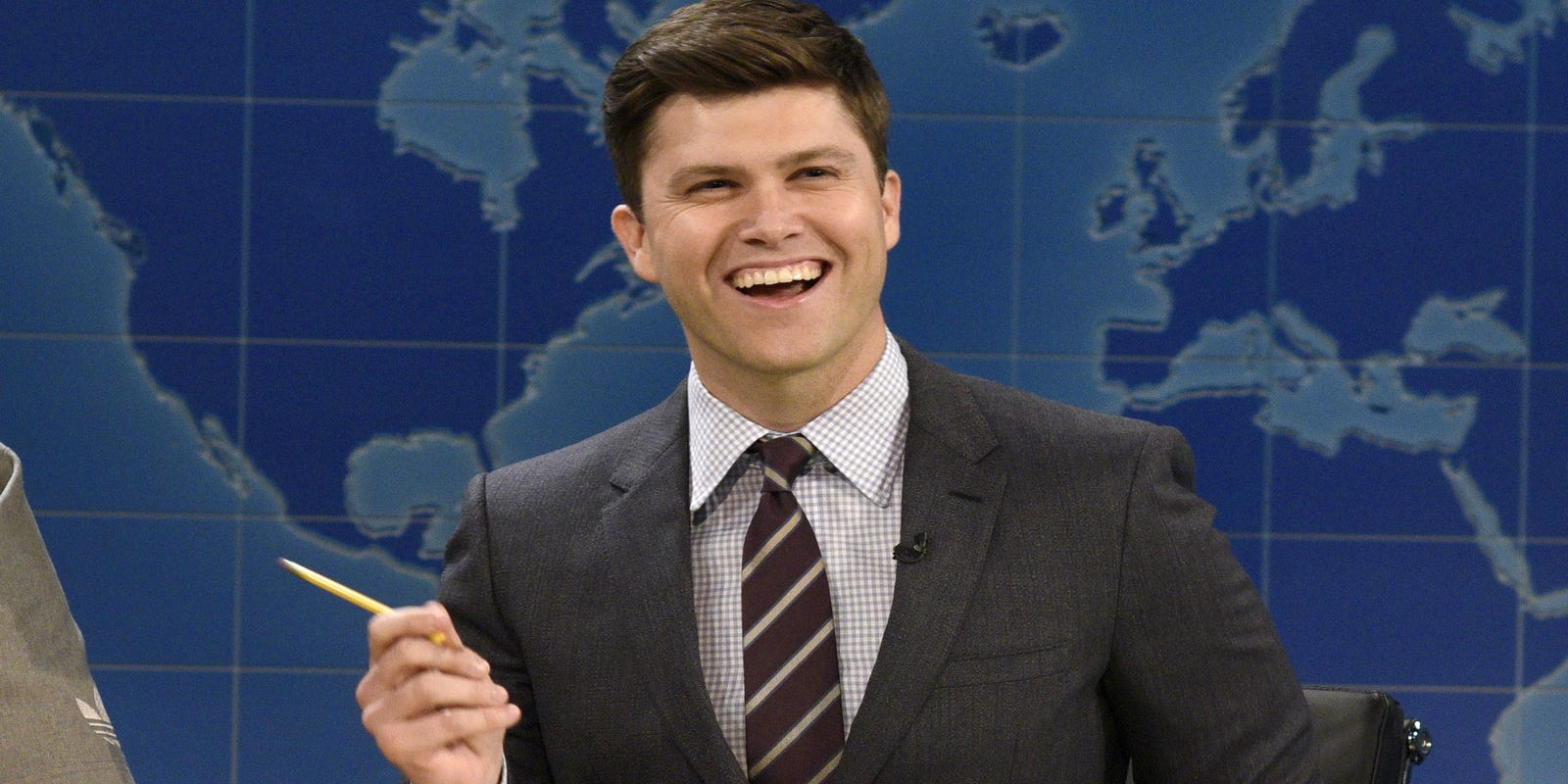 Snl S Colin Jost Gives Meaning To Impeachment Trial Fidget Spinners