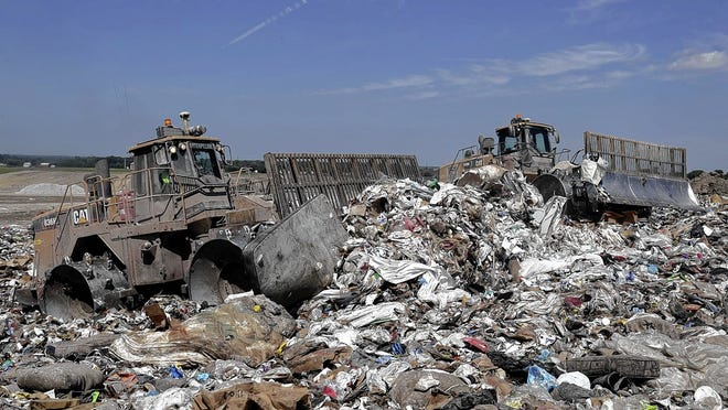 Whitehall City Council voted to switch to a two-cart recycling- and garbage-pickup system in 2021, in part to help reduce the amount of trash the city sends to the Franklin County Sanitary Landfill.