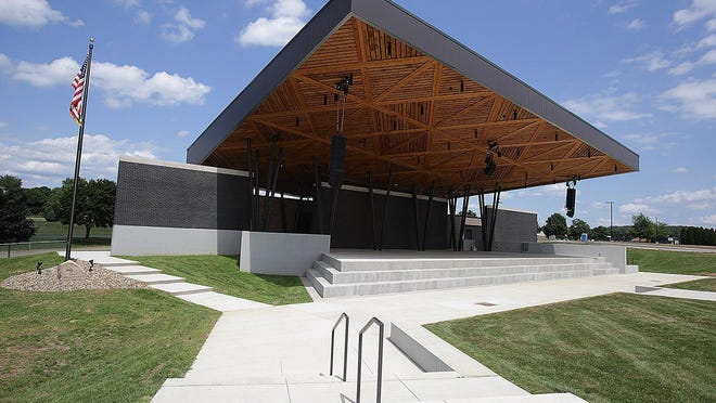Live music performances are set to start June 12 at the new Jackson Amphitheater, which can seat up to 4,000 people at a time. The facility has a covered stage, classic streetlight posts, a grassy seating area and new parking lot at North Park.
