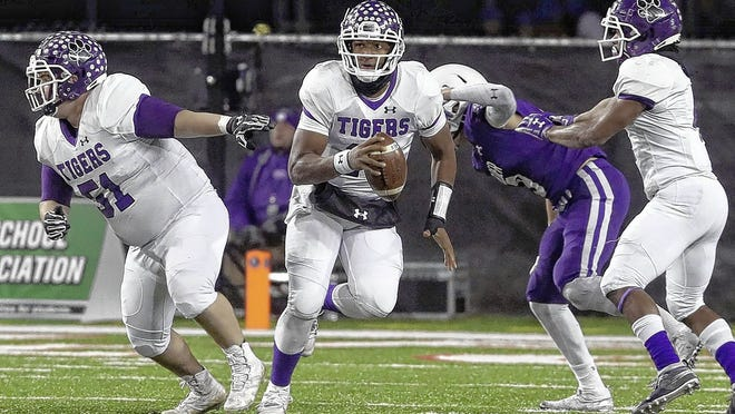 Quarterback Demeatric Crenshaw was named Captain of the Super 25 football team and Male Athlete of the Year for leading Pickerington Central to its second Division I state championship in three seasons.