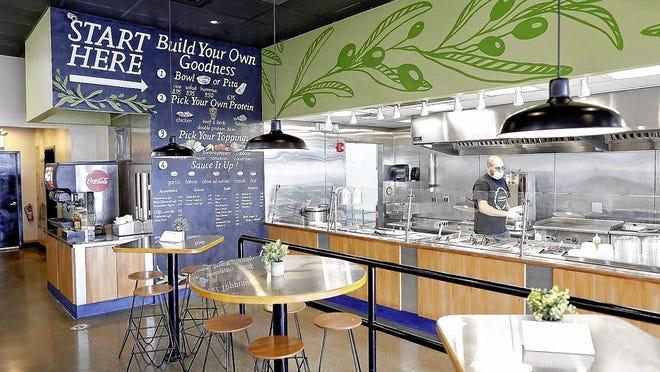 "Muhannad ""Mo"" Jalaq has opened Zaytoon Mediterranean Grill, 5450 Westpointe Plaza Drive in west Columbus."