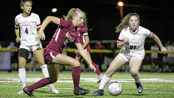 Junior midfielder Brooklyn Scythes is among the top returnees for the Watterson girls soccer team and fourth-year coach Scott Dempsey. The Eagles won the CCL championship last season before losing in a Division I district final.