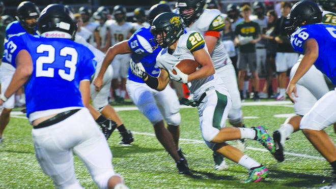 Basehor-Linwood junior running back Zack Sisemore rushed for 216 yards Friday and scored two touchdowns.