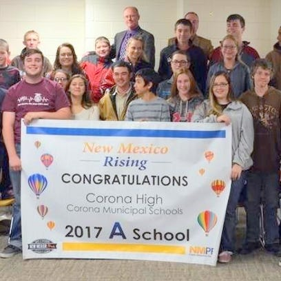"""Corona earns """"A"""" school rating for third time in four years"""