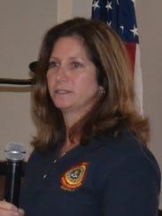 FBI Special Agent Cheryl Hinderer shares information