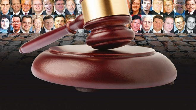 Circuit court judges are among the most powerful and least scrutinized officials in Wisconsin, entrusted daily with decisions that alter people's futures while subject to virtually no assessments, comparisons or other accountability.