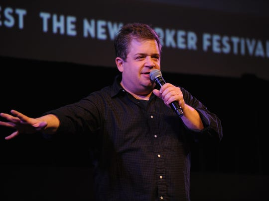 Comedian Patton Oswalt returns to the stage this month following the death of his wife in April. He performs at the First Niagara Fringe Festival on Sept. 16.