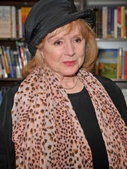 Actress Piper Laurie makes an appearance for her new