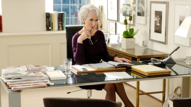 Meryl Streep in a scene from 'The Devil Wears Prada.'